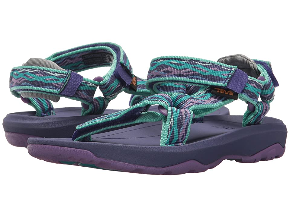Teva Kids Hurricane XLT 2 (Little Kid/Big Kid) (Delmar Sea Glass/Purple) Girls Shoes