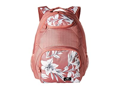 Roxy Shadow Swell Mix Backpack (Withered Rose Lily House) Backpack Bags