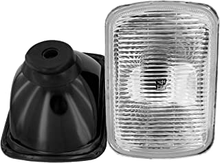 GS Power`s OEM style 7 x 6 inch Glass Lens H4 HID LED Halogen High Low Beam Headlight Lamp Conversion Replacement Kit (2 pcs) | Lights not included | Also available in 4 x 6