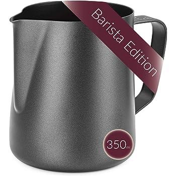 Lambda Coffee® Barista - Jarra de leche (acero inoxidable, 350 ml)