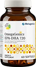Metagenics - OmegaGenics® EPA-DHA 720 – Omega-3 Fish Oil – Daily Supplement, 60 count