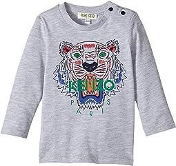 Kenzo Kids - Long Sleeves Tiger Tee Shirt (Infant)
