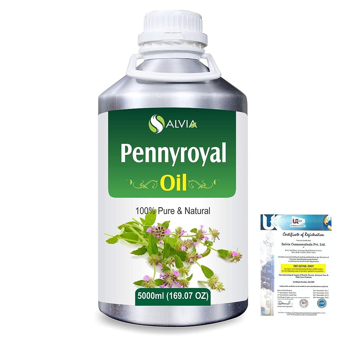 拡声器戻る通知するPennyroyal (Mentha pulegium) 100% Natural Pure Essential Oil 5000ml/169fl.oz.