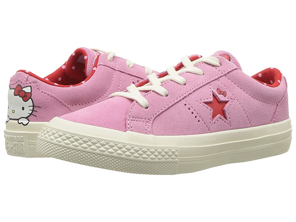 Converse Kids Hello Kitty(r) One Star Ox (Little Kid) (Pink Prism) Girl