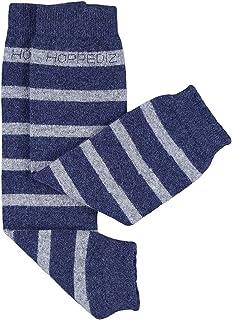 Hoppediz, – Cachemira/Lana de merino bebé calentadores de la pierna (gris/Beige)