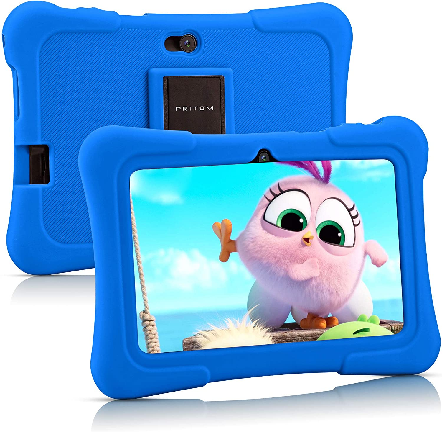 Pritom 7 inch NEW before selling ☆ Kids Tablet Quad 10 16GB Max 67% OFF Android Core Blu WiFi