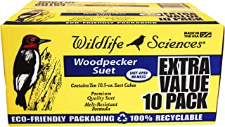 Woodpecker Suet Cake 10 Pack for Wild Birds
