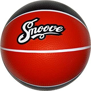 Smoove Big, Soft, Bouncy, Durable Basketball   Indoor Basketball Dribble Training Aid   Black and Red, BRED Basketball   Official Size 7 Basketball   9 Inch, 28.5-29.5 Inch   Indoor Toy Ball