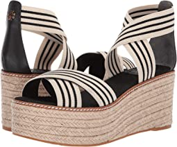 6a7776ee933 Tory burch heather 40mm wedge espadrille + FREE SHIPPING | Zappos.com