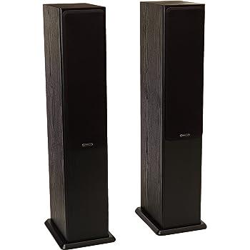 Monitor Audio Bronze Series 5 2 1/2 Way Floorstanding Speaker - Each - Black Oak