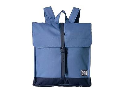 Herschel Supply Co. City Mid-Volume (Riverside/Peacoat) Backpack Bags