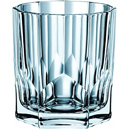 Amazon Com Nachtmann Aspen Crystal Value Pack Whisky Tumbler Set Of 4 11 Oz Clear Old Fashioned Glasses Mixed Drinkware Sets