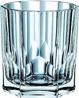 Nachtmann 90040 Aspen Crystal Value Pack Whisky Tumbler (Set of 4), 11 oz, Clear