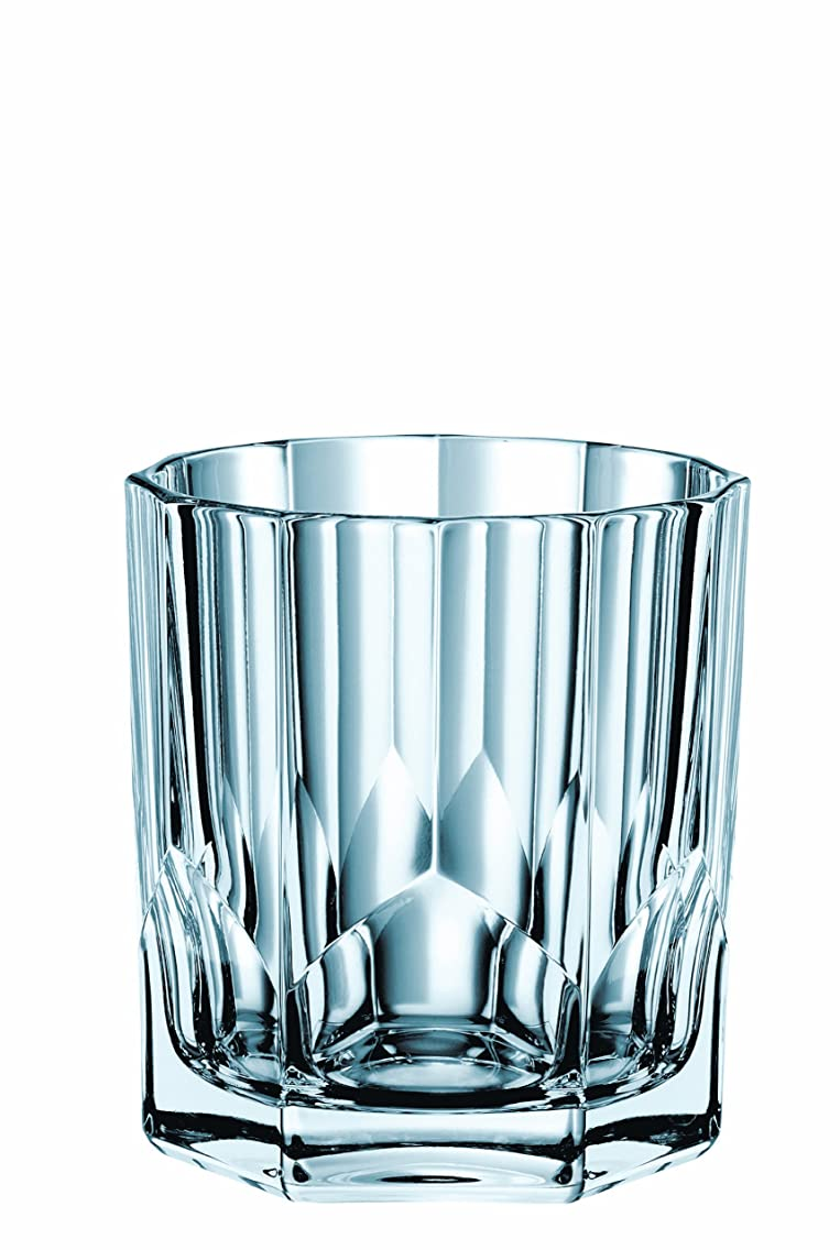 Nachtmann 90040 Aspen Crystal Value Pack Whisky Tumbler (Set of 4), 11 oz, Clear