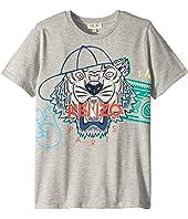 Kenzo Kids - Summer Tiger Tee (Big Kids)