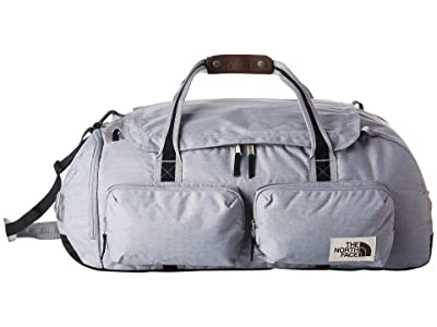 The North Face Berkeley Duffel Large (Mid Grey Light Heather/TNF Black Heather) Duffel Bags