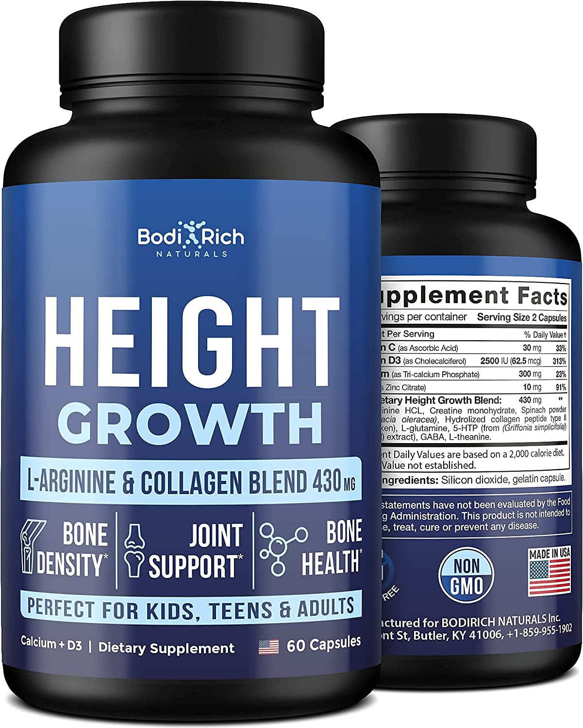 Height Growth Maximizer - Ranking TOP4 Formula Support Advanced Credence Bone