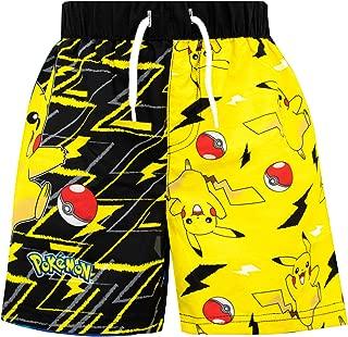 Pokemon Boys Pikachu Swim Shorts