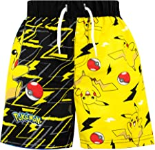 Pokemon Boys' Pikachu Swim Shorts