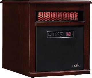 Duraflame 9HM9342-C299 Portable Electric Infrared Quartz Heater, Cherry