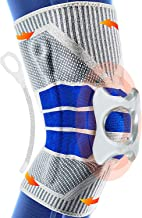 Knee Braces for Knee Pain, Knee Compression Sleeves with Side Stabilizers & Patella Silicone Pads for Knee Support, Menisc...