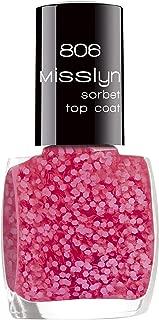 Misslyn Sorbet Top Coat No. 806 Cold Raspberry - Dark Pink