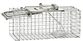 Havahart 1083 Easy Set One-Door Cage Trap for Squirrels and Small Rabbits