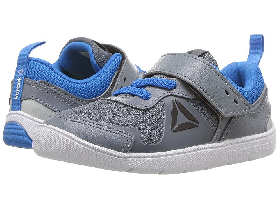 Reebok Kids Ventureflex Stride 5.0 (Toddler) (Asteroid Dust/Risk Blue/Coal/White/Silver Metallic) Boys Shoes
