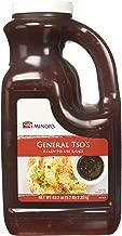 Minor's General Tso Sauce, Stir Fry Sauce, Ginger Garlic Sesame Flavor, 5.2 lb Bottle