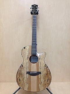 """40"""" Caraya HS-GYPSY-CEQ/GC OM Type Acoustic Guitar, Built-in EQ, Cutaway+ Free Bag"""