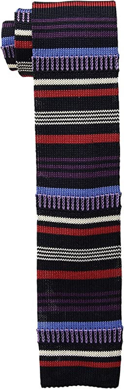 Etro - Striped Knit Tie