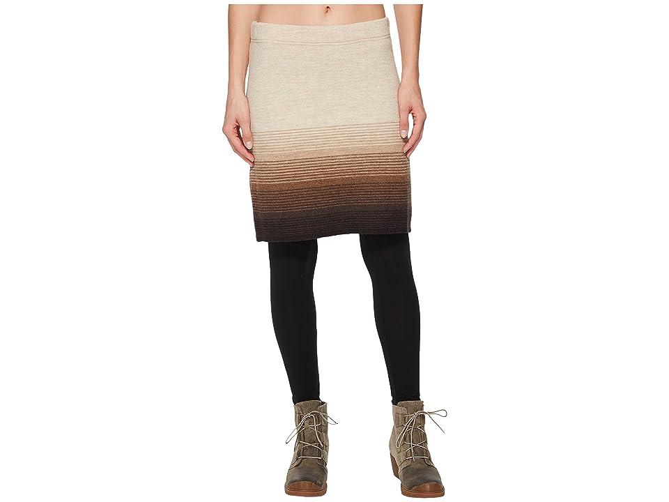 Toad&Co Heartfelt Sweater Skirt (Oatmeal Heather) Women