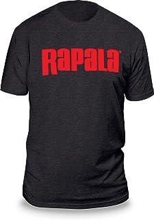 Rapala RNLT9035M Next Level T Shirt Charcoal/Red Logo Medium
