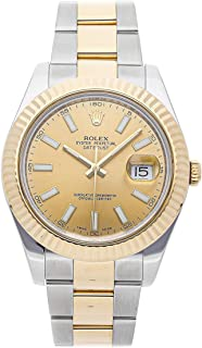Rolex Datejust II Mechanical (Automatic) Champagne Dial Mens Watch 116333 (Certified Pre-Owned)