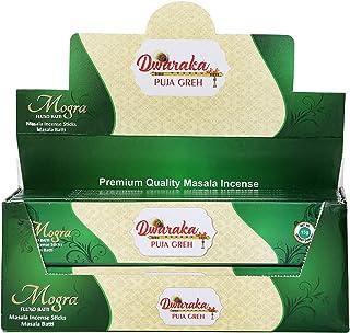Sponsored Ad - Dwaraka - Mogra/ Arabian Jasmine Incense Sticks, 100 Sticks, All Natural, Chemical Free