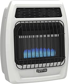 Dyna-Glo BFSS10LPT-2P 10,000 Liquid Propane Thermostatic 10K BTU LP Blue Flame Vent Free T-stat Wall Heater