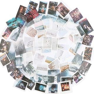 150PCS Autocollants Scrapbooking Stickers Etiquettes Adhésif en Papier Japonais Paysage Urbain Voyage pour Scrapbooking DI...