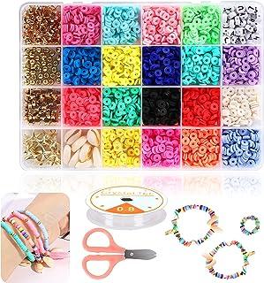 Braleto Polymeer Klei Kralen 18 Kleuren, Platte Ronde Spacer Kralen, Sieraden Maken Tool Kit Voor Accessoires Armbanden Ke...