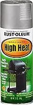 Rust-Oleum 7716830 High Heat Enamel Spray, 12 oz, Silver