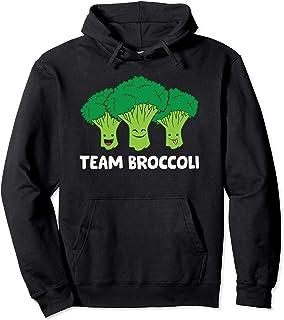 Sponsored Ad - Broccoli Lover Team Broccoli Vegan Vegetarian Broccoli Pullover Hoodie