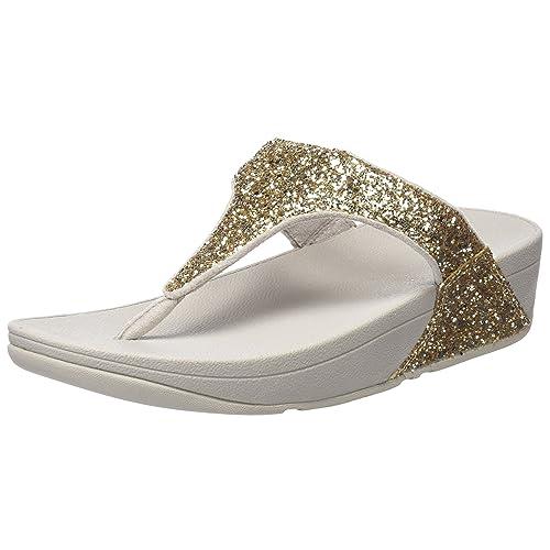 6f51fd3958d3 Fitflop Women s Glitterball Post T-Strap Sandals