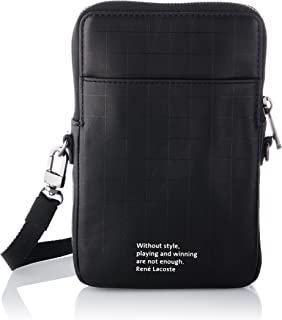 Lacoste Herren NH3294HT Reisezubehör-Brieftasche, Noir, Einheitsgröße EU