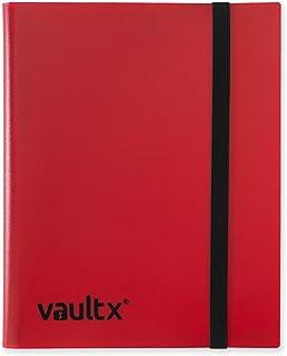 Vault X Binder - 9 Pocket Trading Card Album Folder - 360 Side Loading Pocket Binder for TCG