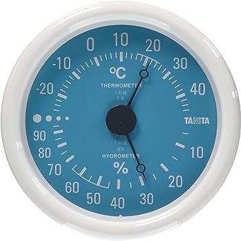 タニタ 温湿度計 温度 湿度 アナログ ブルー TT-515 BL