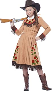 California Costumes Cowgirl/Annie Oakley Girl Costume, One Color, Large