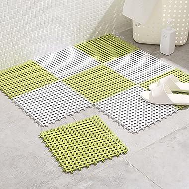 Bathroom Carpet Advanced, Antifouling Doormat Waterproof, for Patio Kitchen Non Slip Machine Washable Durable Doormat, 6 Colo