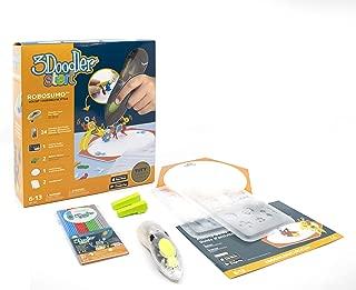 3Doodler Start Robo Sumo 3D Printing Set, Transparent Pen, Includes Refill Plastic & Activities