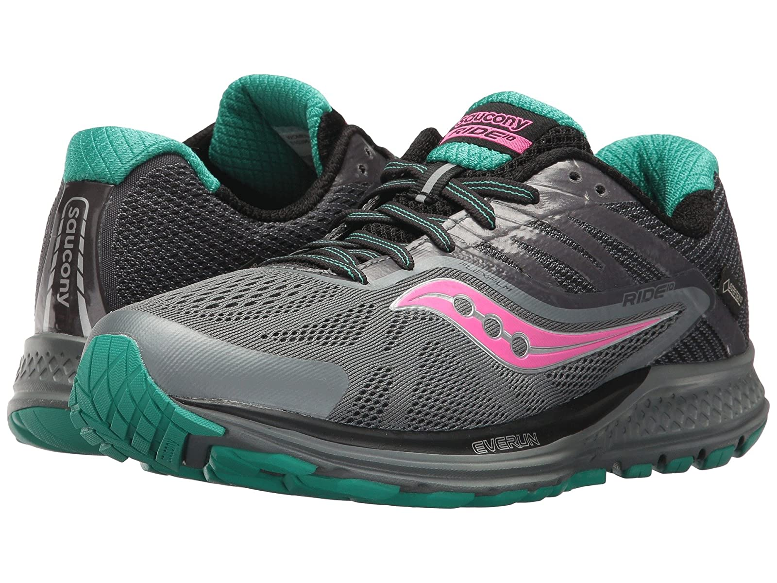 Saucony Ride 10 GTX®Atmospheric grades have affordable shoes