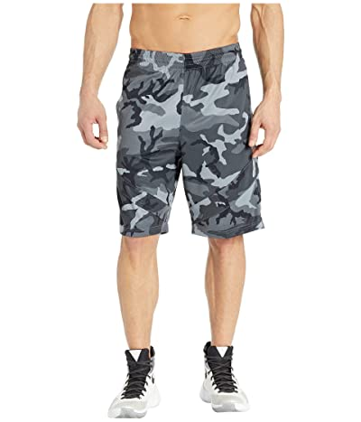 Nike Dry Courtlines Shorts AOP (Cool Grey/White) Men