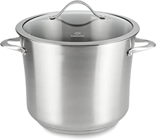 Calphalon Contemporary Stainless Steel Cookware, Stock Pot, 12-quart